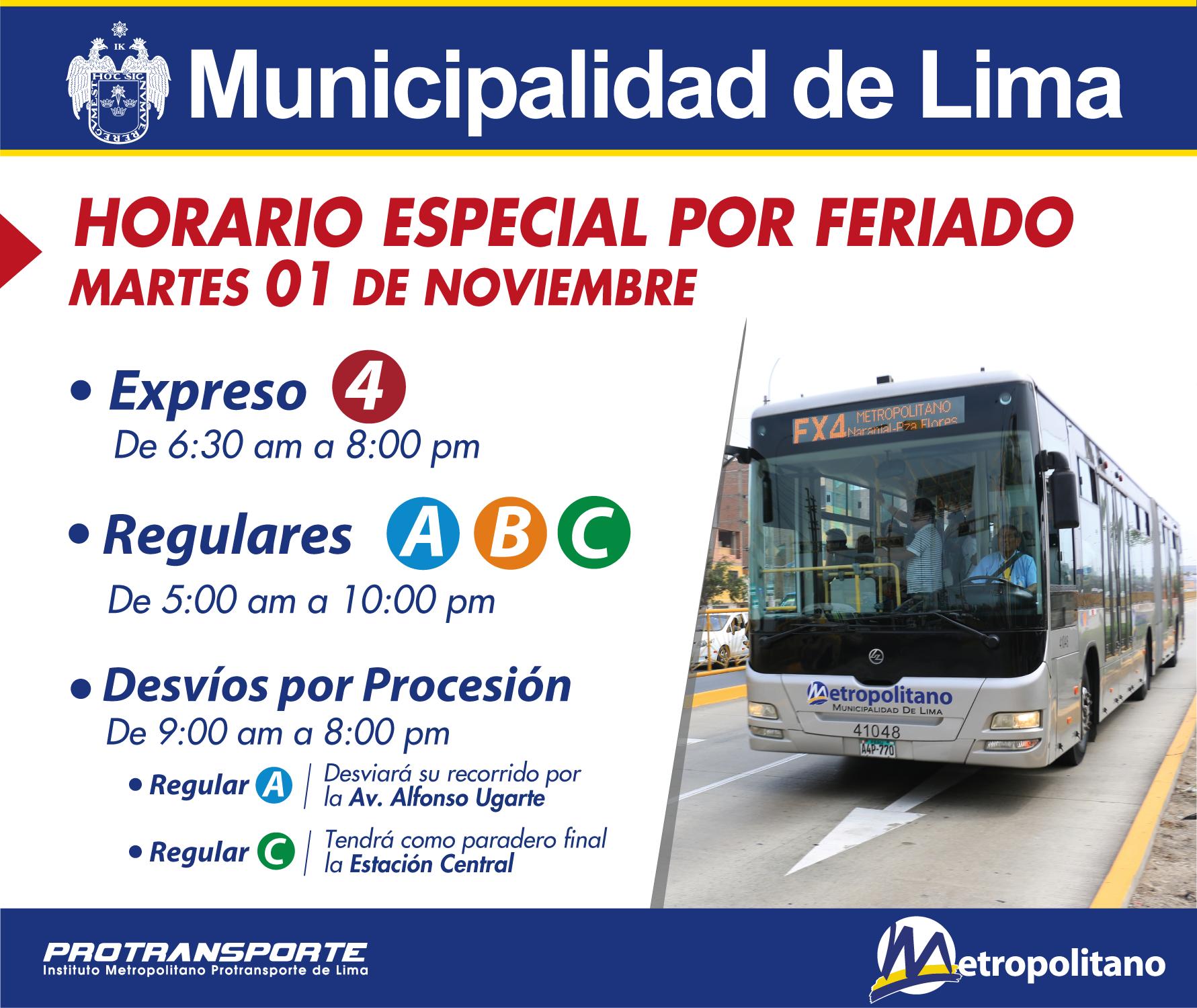 HORARIO ESPECIAL_FERIADO 1 NOV