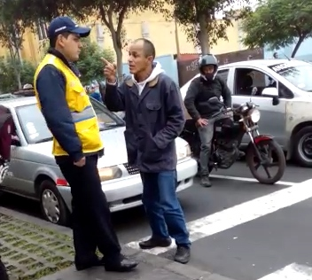 amenaza a agente de protransporte 10
