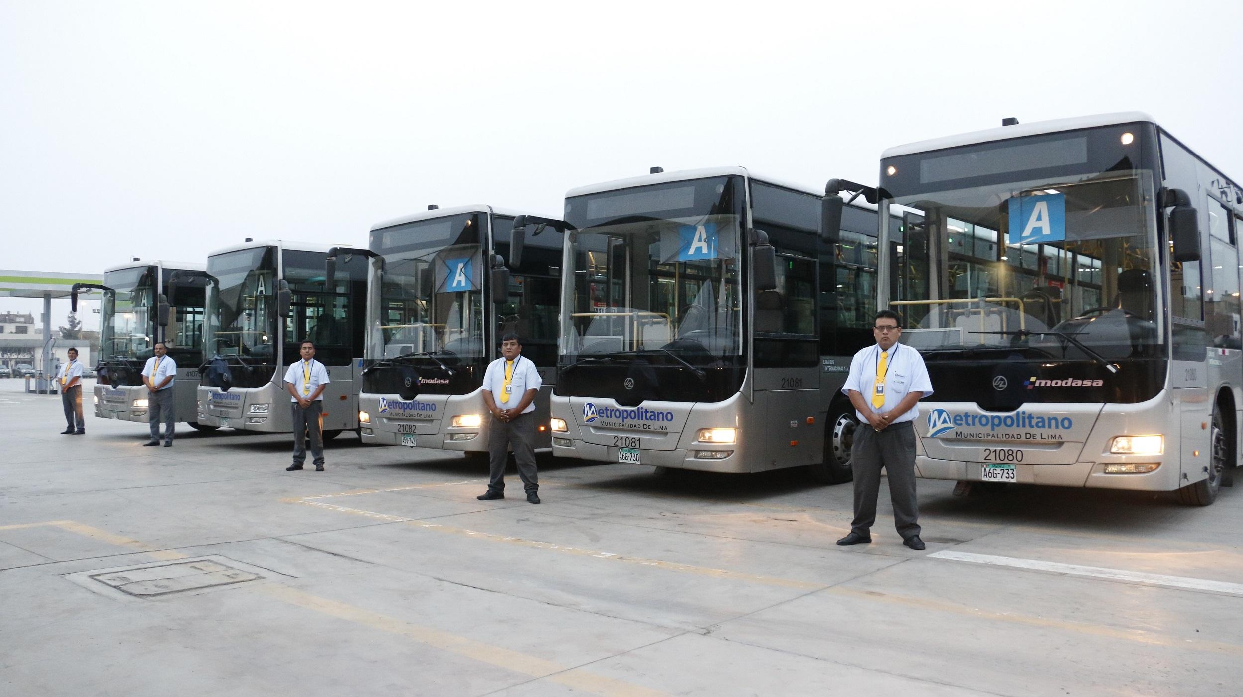 nuevos buses a